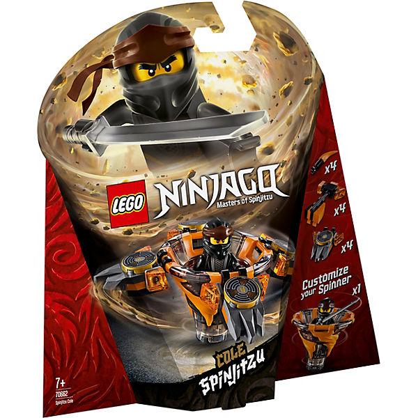 LEGO 70662 Ninjago: Spinjitzu Cole, LEGO Ninjago