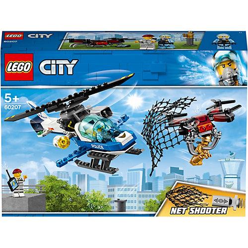 Конструктор LEGO City Police 60207: Воздушная полиция: погоня дронов от LEGO