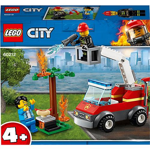Конструктор LEGO City Fire 60212: Пожар на пикнике от LEGO