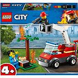 Конструктор LEGO City Fire 60212: Пожар на пикнике