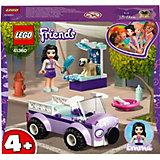 Конструктор LEGO Friends 41360: Передвижная ветклиника Эммы
