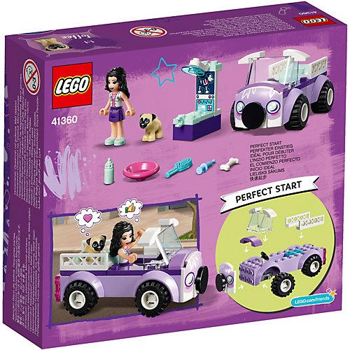 Конструктор LEGO Friends 41360: Передвижная ветклиника Эммы от LEGO