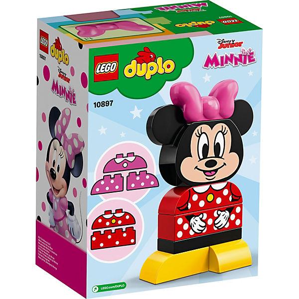 Конструктор LEGO DUPLO Disney 10897: Моя первая Минни