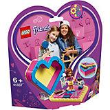Конструктор LEGO Friends 41357: Шкатулка-сердечко Оливии