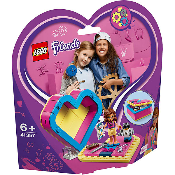 LEGO 41357 Friends: Olivias Herzbox
