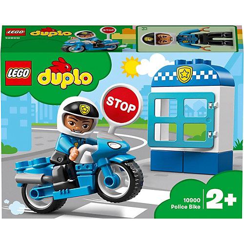 "Конструктор LEGO Duplo ""Полицейский мотоцикл"", арт 10900 от LEGO"