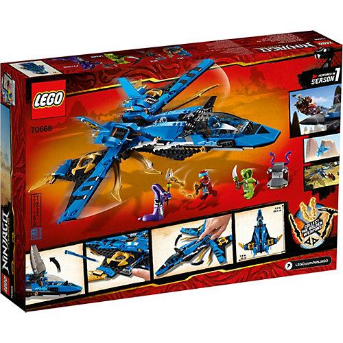 Конструктор LEGO Ninjago 70668: Штормовой истребитель Джея от LEGO