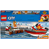 Конструктор LEGO City Fire 60213: Пожар в порту