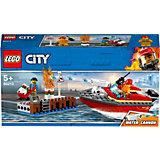 Конструктор LEGO City Fire 60213: Пожар в порту