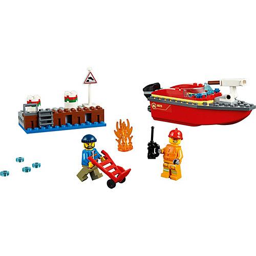 Конструктор LEGO City Fire 60213: Пожар в порту от LEGO