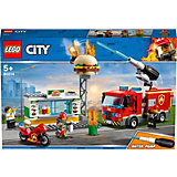 Конструктор LEGO City Fire 60214: Пожар в бургер-кафе