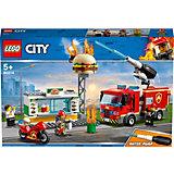 Конструктор LEGO City Fire 60214: Пожар в бургер-кафе