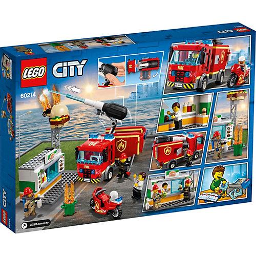 Конструктор LEGO City Fire 60214: Пожар в бургер-кафе от LEGO