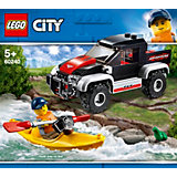 Конструктор LEGO City Great Vehicles 60240: Сплав на байдарке