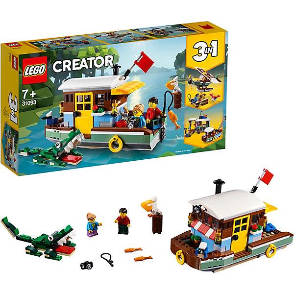 Конструктор LEGO Creator 31093: Плавучий дом