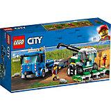 """Конструктор LEGO City """"Транспортировщик для комбайнов"""", арт 60223"""