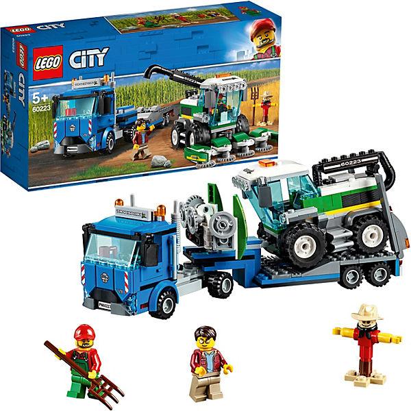 Конструктор LEGO City Great Vehicles 60223: Транспортировщик для комбайнов