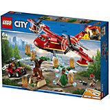 Конструктор LEGO City Fire 60217: Пожарный самолёт
