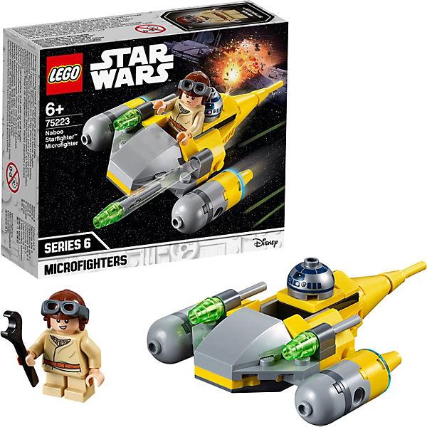 Конструктор LEGO Star Wars 75223: Микрофайтеры: Истребитель с планеты Набу