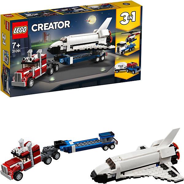 Конструктор LEGO Creator 31091: Транспортировщик шаттлов