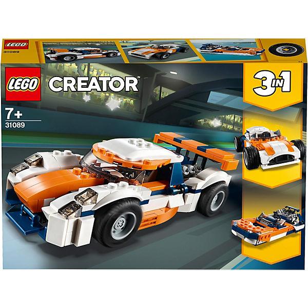 Конструктор LEGO Creator 31089: Оранжевый гоночный автомобиль