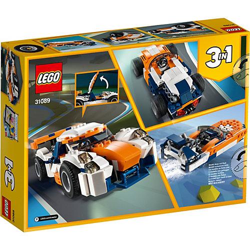 Конструктор LEGO Creator 31089: Оранжевый гоночный автомобиль от LEGO