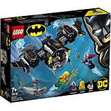 Конструктор LEGO Super Heroes 76116: Подводный бой Бэтмена
