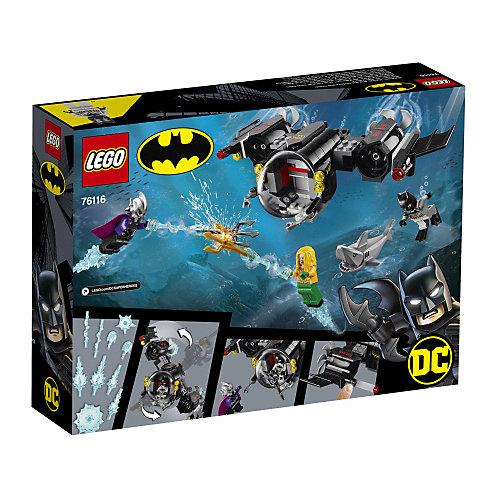 Конструктор LEGO Super Heroes 76116: Подводный бой Бэтмена от LEGO