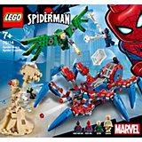 Конструктор LEGO Super Heroes 76114: Паучий вездеход