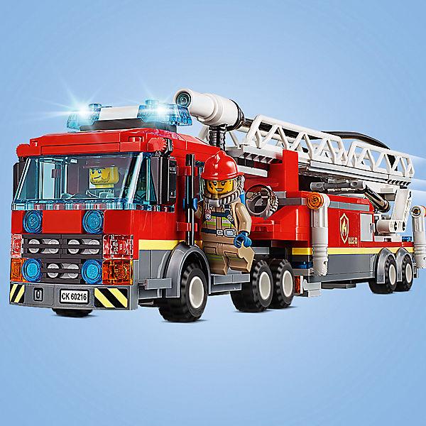 Конструктор LEGO City Fire 62016: Центральная пожарная станция