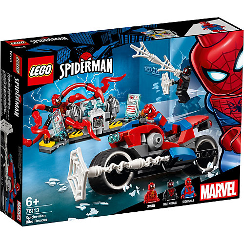Конструктор LEGO Super Heroes 76113: Спасательная операция на мотоциклах от LEGO