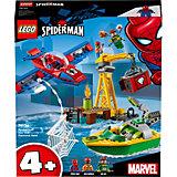 Конструктор LEGO Super Heroes 76134: Человек-паук: похищение бриллиантов Доктором Осьминогом