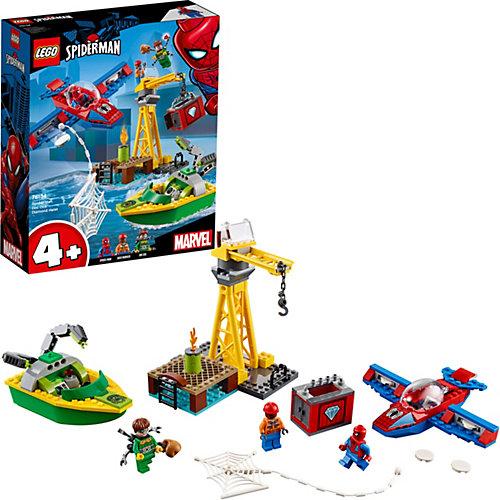Конструктор LEGO Super Heroes 76134: Человек-паук: похищение бриллиантов Доктором Осьминогом от LEGO