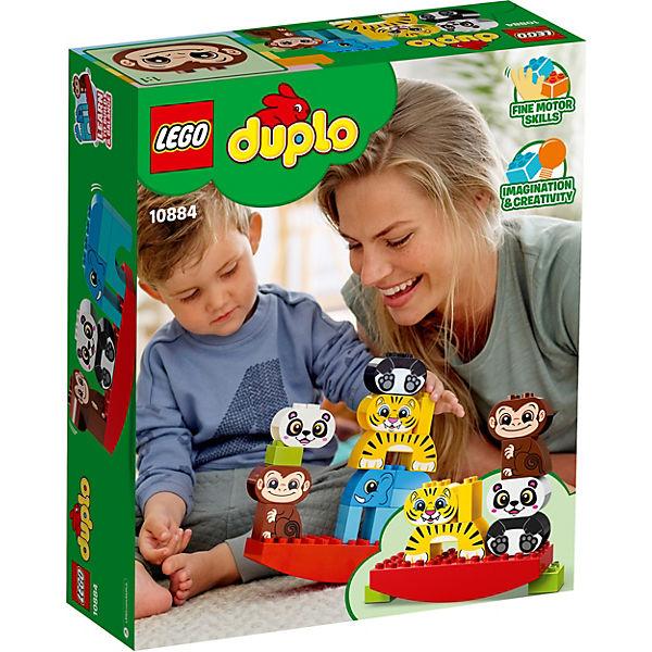 Конструктор LEGO DUPLO My First 10884: Мои первые цирковые животные