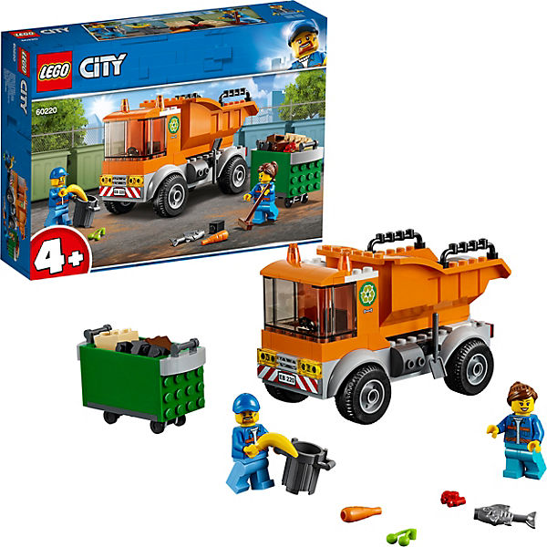LEGO 60220 City: Müllabfuhr, City LEGO City Müllabfuhr, 240426