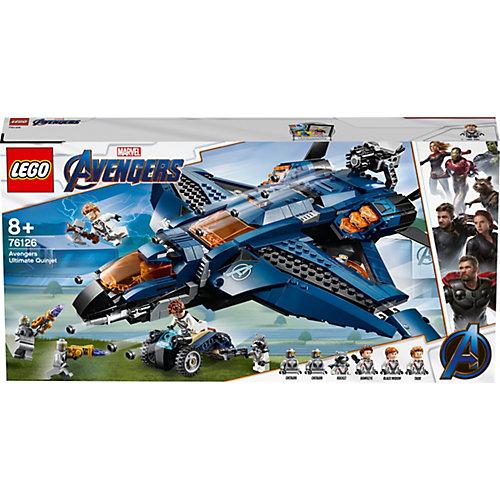 Конструктор LEGO Super Heroes 76126: Модернизированный квинджет Мстителей от LEGO