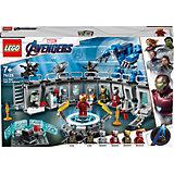 Конструктор LEGO Super Heroes 76125: Лаборатория Железного человека Super Heroes