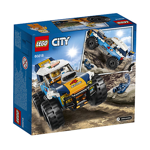 Конструктор LEGO City Great Vehicles 60218: Участник гонки в пустыне от LEGO