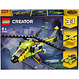Конструктор LEGO Creator 31092: Приключения на вертолёте