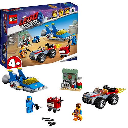 LEGO Movie Мастерская «Строим и чиним» Эммета и Бенни! 70821 от LEGO