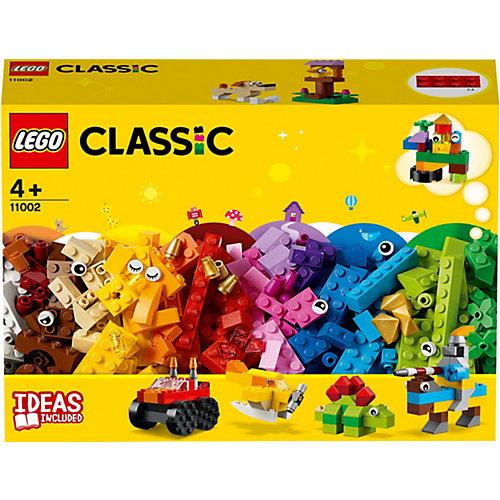 Конструктор LEGO Classic 11002: Базовый набор кубиков от LEGO