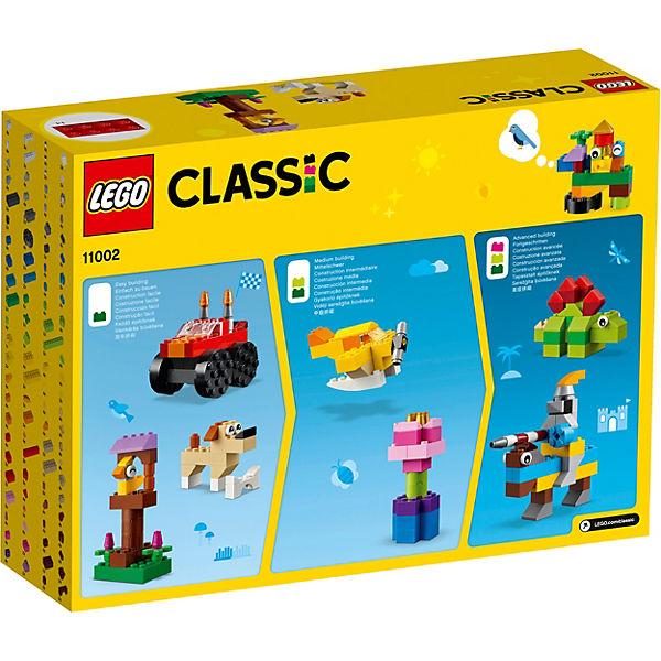 Конструктор LEGO Classic 11002: Базовый набор кубиков