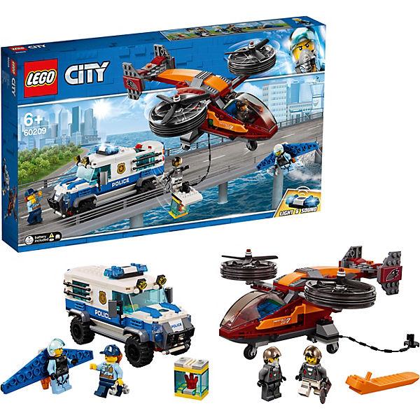 Конструктор LEGO City Police 60209: Воздушная полиция: кража бриллиантов