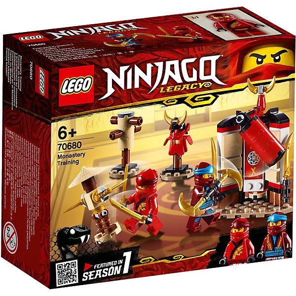 Конструктор LEGO Ninjago 70680: Обучение в монастыре
