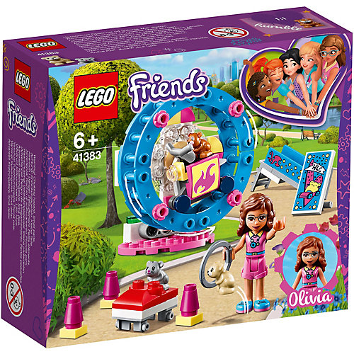 Конструктор LEGO Friends 41383: Игровая площадка для хомячка Оливии от LEGO