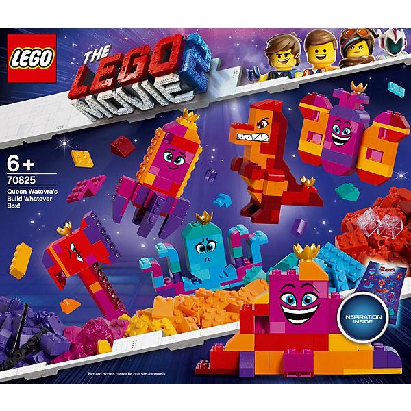 """Конструктор LEGO Movie 70825: Шкатулка королевы Многолики """"Собери что хочешь"""""""