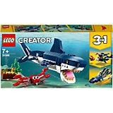 Конструктор LEGO Creator 3108: Обитатели морских глубин