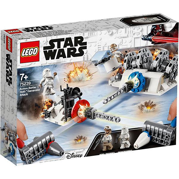 Конструктор LEGO Star Wars 75239: Разрушение генераторов на Хоте