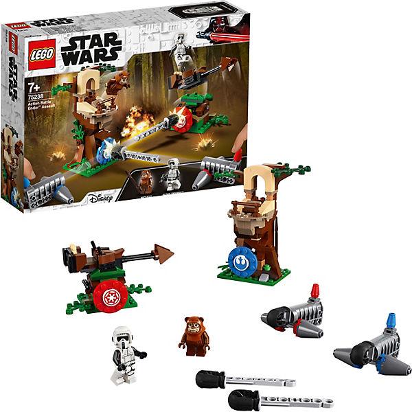 Конструктор LEGO Star Wars 75238: Нападение на планету Эндор