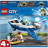 Конструктор LEGO City Police 60206: Воздушная полиция: патрульный самолёт